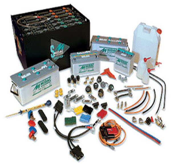 Batteries Chargers & Accessories Forklift parts