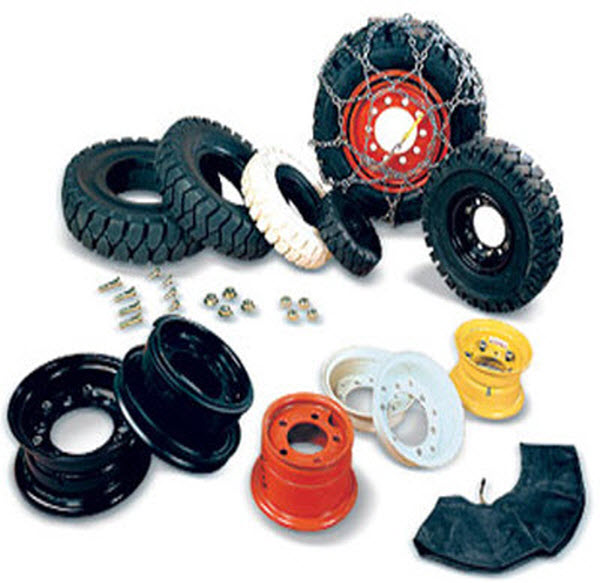 Tyres-Rims-forklift-parts
